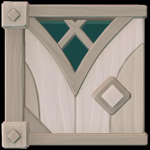 Stylish Wood Trapdoor