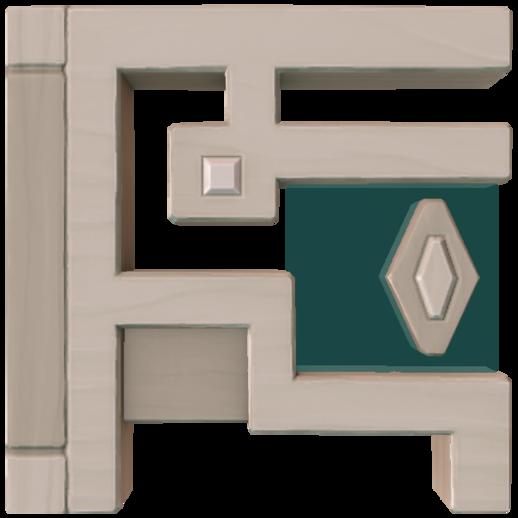 Ornate Wood Trapdoor