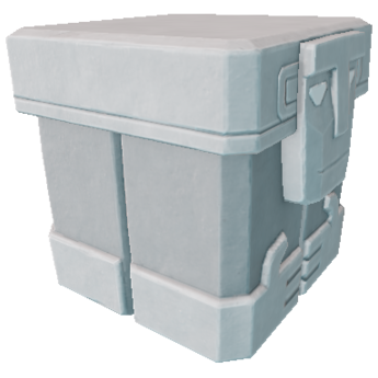Plain Stone Trunk
