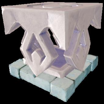 Titanium Furnace Base