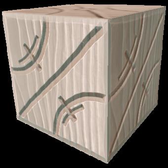 Decorative Twisted Wood
